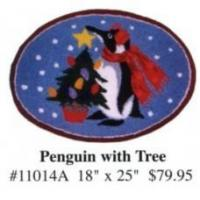 Stretcher Frames (9823f) penguin with Tree Manufactures