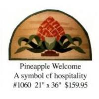 Stretcher Frames (9823c) Pineapple welcome rug Manufactures