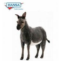 Hansatronics Mechanical Plush Stuffed Donkey Toy Life Size 43 Inches Manufactures