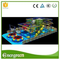 High quality climbing wall rope adventure challenge course playground Manufactures