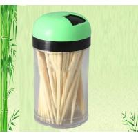new pvc box packed bamboo toothpick Manufactures