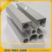 60x60 aluminium t-slot frame profile extrusion open mold industrial track coated white matte v slot Manufactures