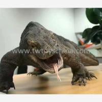 Resin Animal Komodo Dragon Life Like Decoration Animal Figure Manufactures