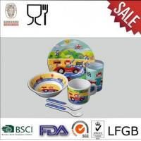 High Quality,New Design,Cute Children Melamine Gift Plate And Bowl