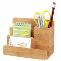 bamboo desk holder and organizer Manufactures
