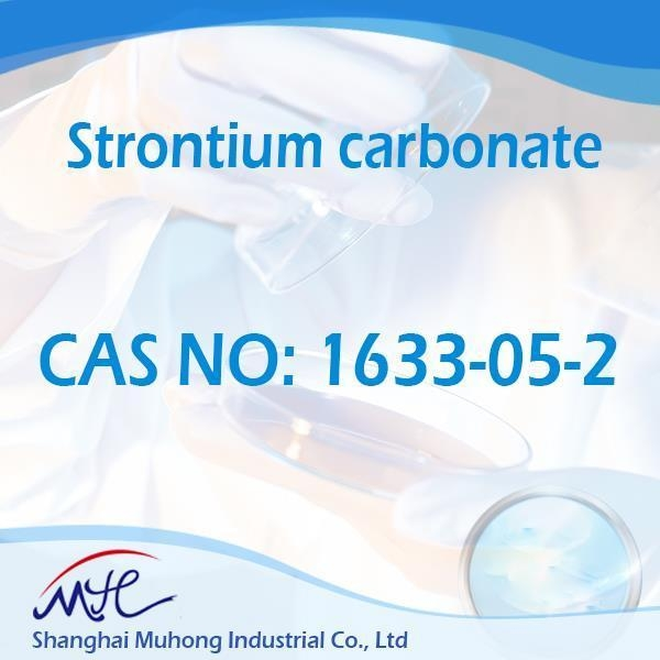 Quality High Purity Strontium Carbonate CAS 1633-05-2 for sale