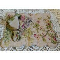Large Roses Quilted Placemat and Matching Napkin Manufactures