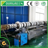 Buy cheap CE / ISO / CO2 Twin Screw XPS Production Line OGTS 75T / 150 for Styrofoam Insulation Sheets from wholesalers