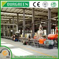 Buy cheap CE / ISO / High Torque Large Capacity Twin Screw XPS Extrusion Line 95T / 300 for 28Kg/M3 XPS Board from wholesalers