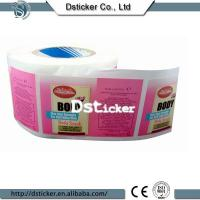 Daily product label china factory supply self adhesive label Manufactures