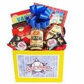 All Star Mens Gift Basket with Puzzle Books and Snacks Manufactures