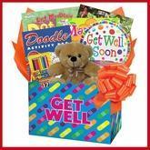 Kids Get Well Gift Box of Things to Do Manufactures