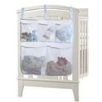 Breathable Mesh Nursery Diaper Organizer Storage Bag Bedside Caddy for Baby Crib Manufactures