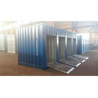 20ft motorcycle trunk room container with shutter door Manufactures