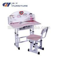 painting school children desk and chair with low price