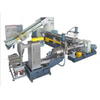 PE PP compactor pelletizing line(two stages)