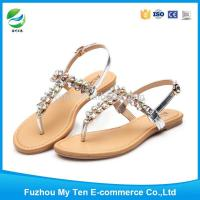 Fashion Accessories Best Selling Bling Rhinestones New 2016 Ladies Sandals Manufactures