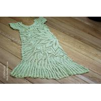 Buy cheap Handmade Crochet summer lace dress from doily pattern from wholesalers