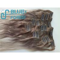 Double Drawn Clip In Brazilian Hair Extension Large Stocks Any Color Size 8-30inch Customization Ava