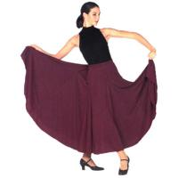 Multi Panels Long Skirt