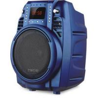 China Battery Speakers 6' Subwoofer Blue Portable Trolley Speaker With Bluetooth on sale