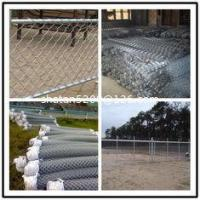 2.5 inch x 6ft or 3ft Black vinyl coated chain link fencing Manufactures