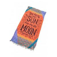 Enjoy Sun and Moon Beach Towel Blanket LC42105-22 Manufactures