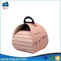 China Small design cake box for wedding on sale