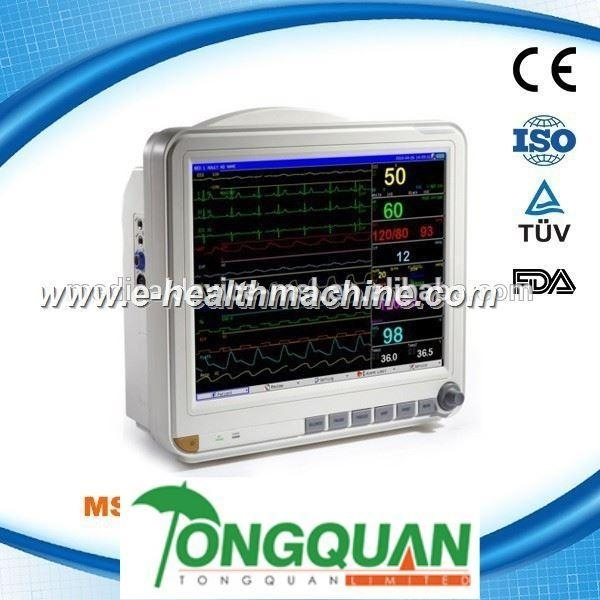 Quality Greatest quality cheap 15 inch portable multiparameter patient monitor MSLMP04-L for sale
