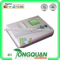 Three channel 12 lead ECG machine-MSLEC04D Manufactures