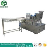 Packed drinking fruit jelly spout pouch filling and capping machine