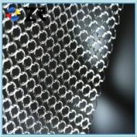 Stainless steel chainmail ring mesh