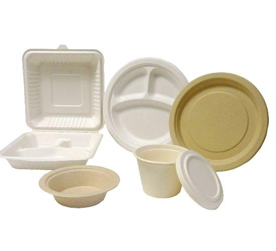Quality Bagasse Pulp Molded Tableware for sale