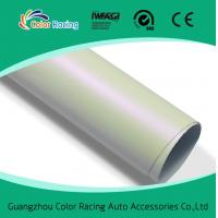 China Vehicle Vinyl Wrap Glossy matte pearl White Chameleon Sticker For Car Body Decal on sale