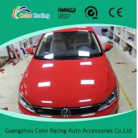 China Easy to install air bubble free 60inch x100ft auto vinyl wrap gloss red on sale