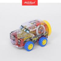 China Sugar Free Snack Food Mini Fruit Jelly in Toy Car Jar on sale