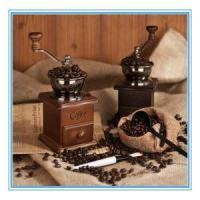 Cheap Solid Wood Hand Coffee Grinder Grinding Machine Hand Coffee Machine Mill for sale