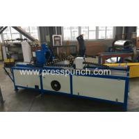 Cheap HVAC pipe production line Angle steel flange production line punching shearing machine Admin Edit for sale