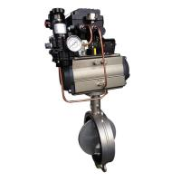 EDB Butterfly Valve with positioner Manufactures