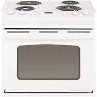China APPLIANCES 1029140 GE 30-INCH 4.4 CU. FT. DROP-IN ELECTRIC RANGE, WHITE on sale