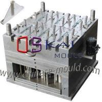 Plastic Broom Injection Mold with Sliders Designed and Work Full Automatic by Oil Motor and Air Jars