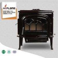 China HiFlame Extra Large Brown Enamel Cast Iron Wood Burning Stove HF737U on sale