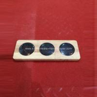 Buy cheap Black Round Marble + Wood Cheese Board from wholesalers