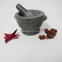 Buy cheap 3 Inches Tall Granite Mortar and Pestle from wholesalers