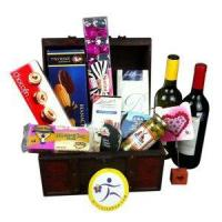 China Christmas gift baskets send Christmas gift basket to China NO.55 Manufactures