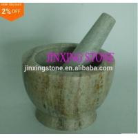 Grass White Jade Mortar and Pestle Set/Marble Spice&Herb Crusher Grinder Set Manufactures