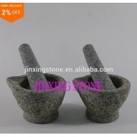 Small Granite Mortar and Pestle/Natural Stone Crushing Grinding Food, Herb, Pharmacy Manufactures