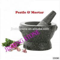 Factory Direct Granite Mortar&Pestle with 2 Ear Manufactures