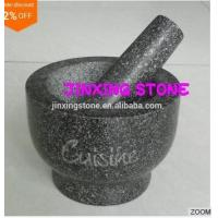 China Wonderful Cooking Tool/Granite Mortar and Pestle/ Granite Kitchenware on sale