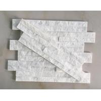 Buy cheap HHSC4Z-005 White quartzite Z shape wall cladding from wholesalers